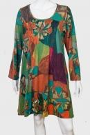 Модное платье-балахон.