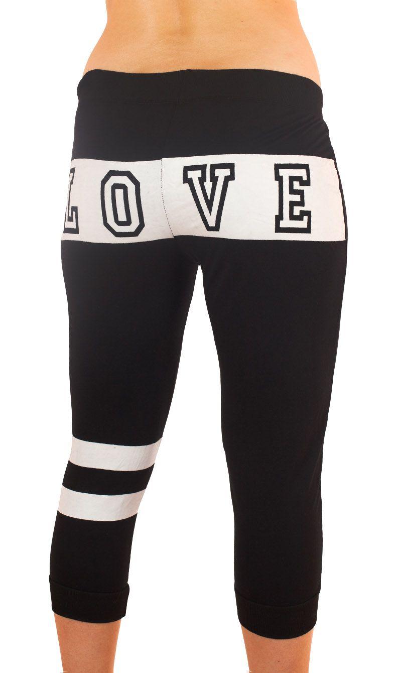 Модные спортивные брюки капри Coco Limon