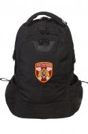 Молодежный черный рюкзак с нашивкой Росгвардия