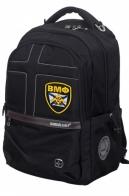 Молодежный черный рюкзак с нашивкой ВМФ
