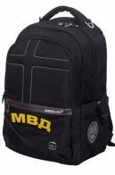 Молодежный городской рюкзак с нашивкой МВД