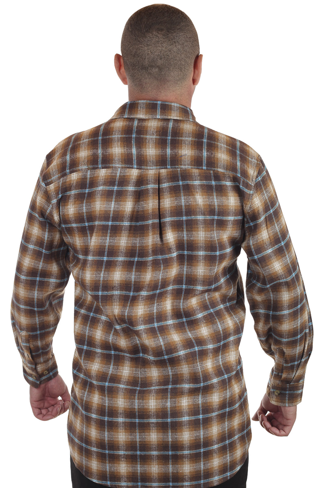 Мужская рубашка в клетку от ТМ Old Mill