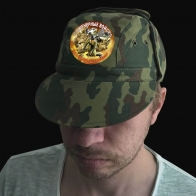 """Мужская камуфляжная кепка """"Инженерные войска"""""""