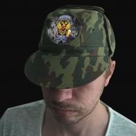Мужская кепка-камуфляж с термотрансфером Рыболовные Войска