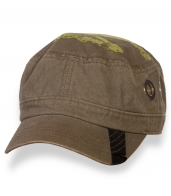 Мужская милитари кепка-немка цвета хаки