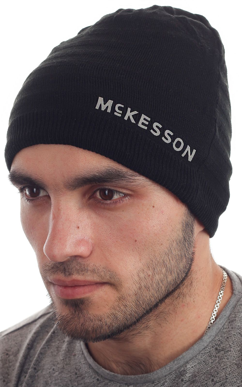 Мужская шапка из флиса