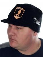 Мужская тёплая шапка Miller Way с нашивкой «Вежливые Люди». Модная и недорогая кепка на холодную погоду. Забирай себе или на подарок
