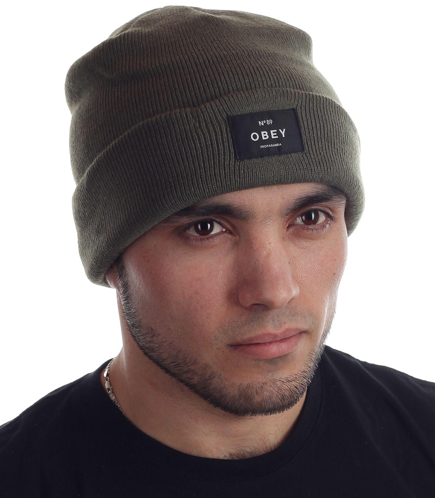 Купить мужскую шапку от OBEY Clothing онлайн