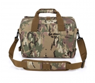 Мужская сумка под ноутбук с компасом в поход