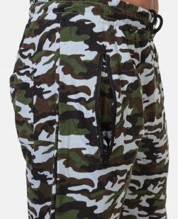 Мужские хлопковые шорты с шевроном Потомственного казака купить с доставкой