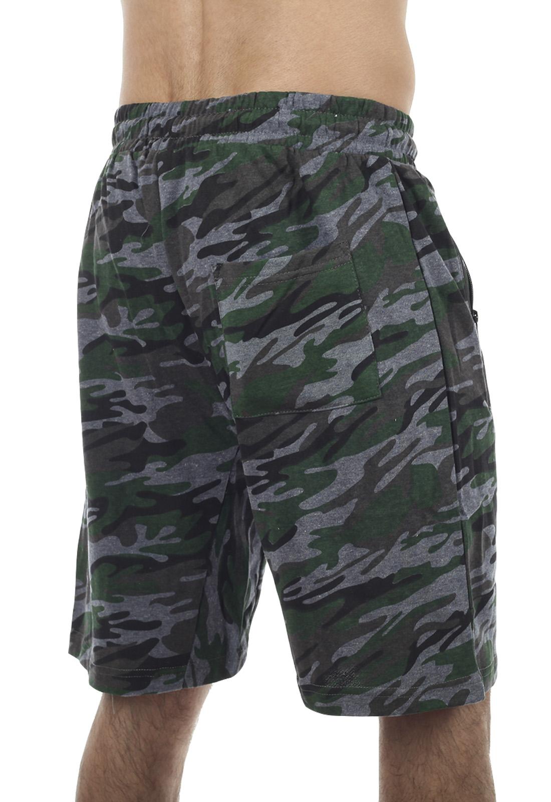 Недорогие мужские шорты камуфляж