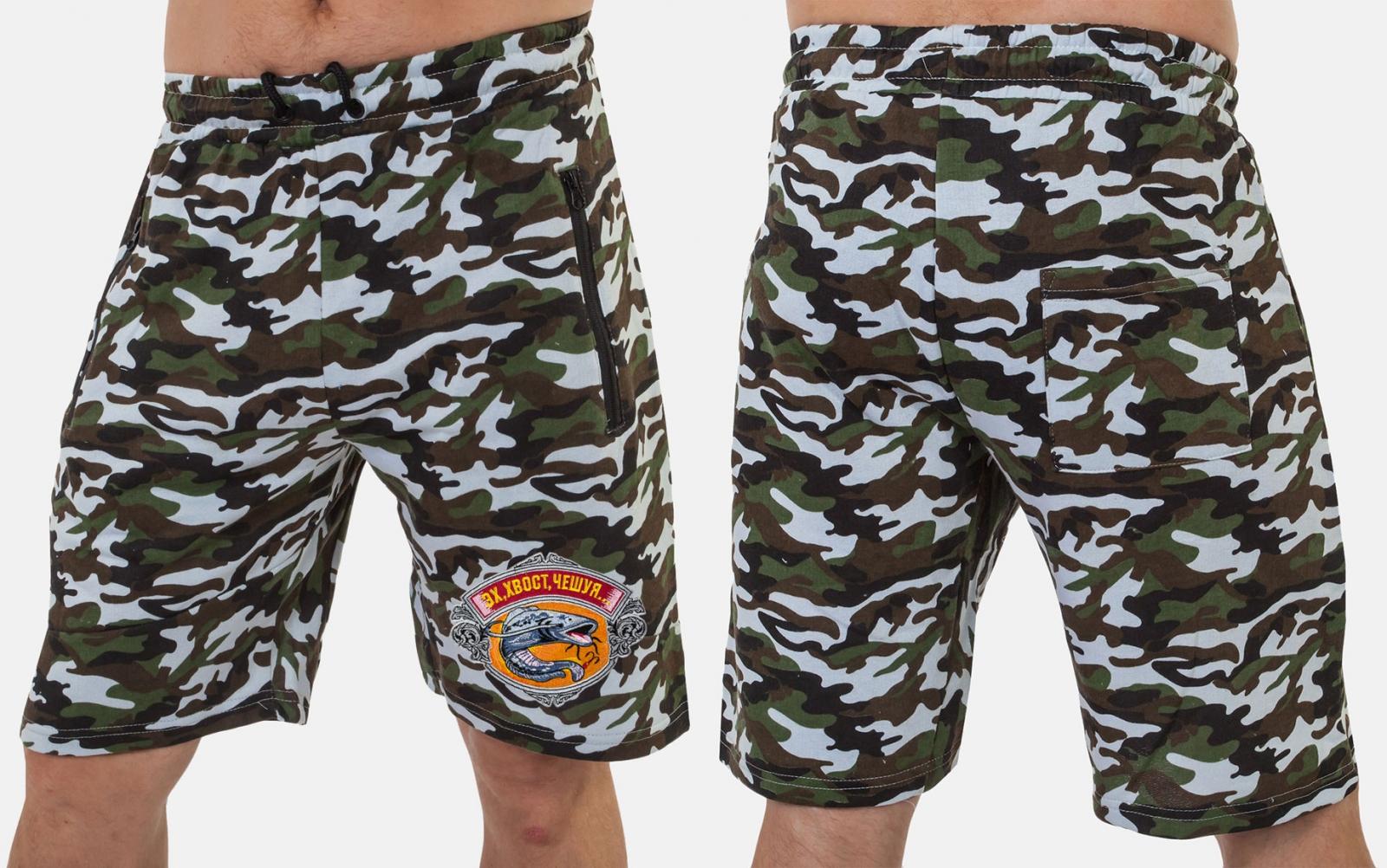 Мужские шорты для летней рыбалки оптом в Военпро