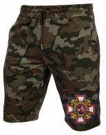 Купить мужские шорты из хлопка с шевроном Потомственный казак