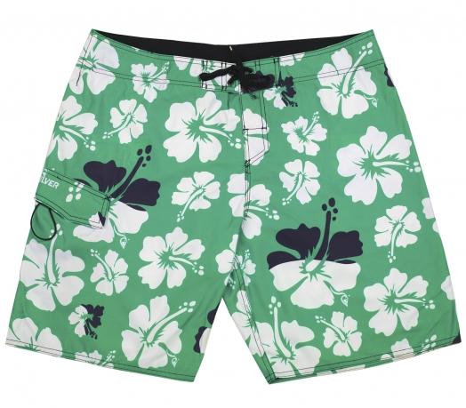 Мужские шорты Quiksilver модной цветочной расцветки