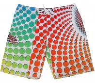 Мужские шорты Quiksilver в разноцветный горох