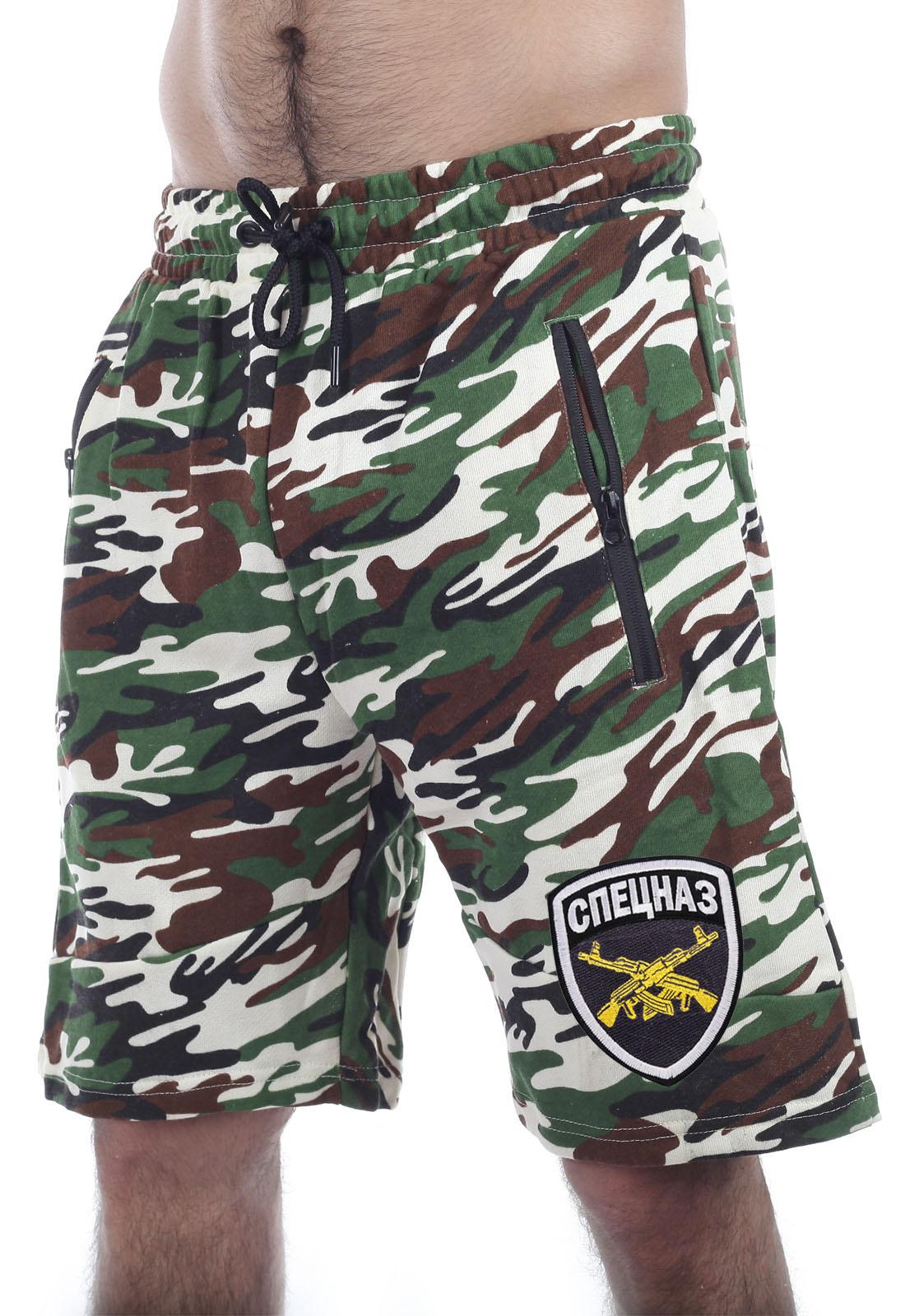Купить в интернет магазине мужские шорты Спецназ по цене 899 р.