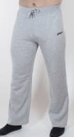 Мужские штаны Асикс – популярный фасон с широкими, прямыми  штанинами. Спортивная классика в модном нейтральном цвете