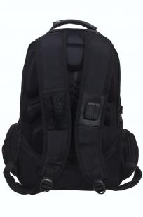 Мужской черный рюкзак с нашивкой Рунический круг купить оптом