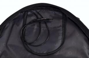 Мужской черный рюкзак с нашивкой Рунический круг купить с доставкой