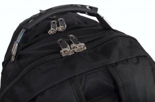 Мужской черный рюкзак с нашивкой Рунический круг купить оп лучшей цене
