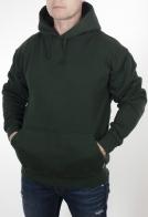 Мужская толстовка кенгуру Arctic Wear с капюшоном. Теплая модель Street Style цвета хаки. Модная защита от холода для парней и мужчин любого возраста и комплекции