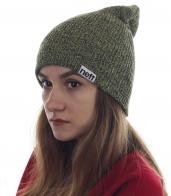 Мягкая шапочка Neff для милых девушек. Приятный цвет, теплый материал, модный и удобный дизайн - то, что нужно для холодного времени года