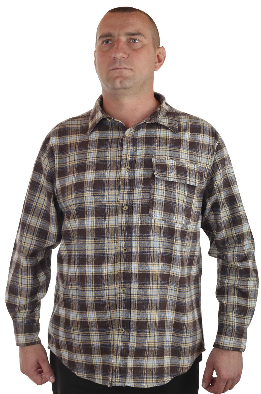 Купить в Москве мужскую рубашку OLD MILL с длинным рукавом