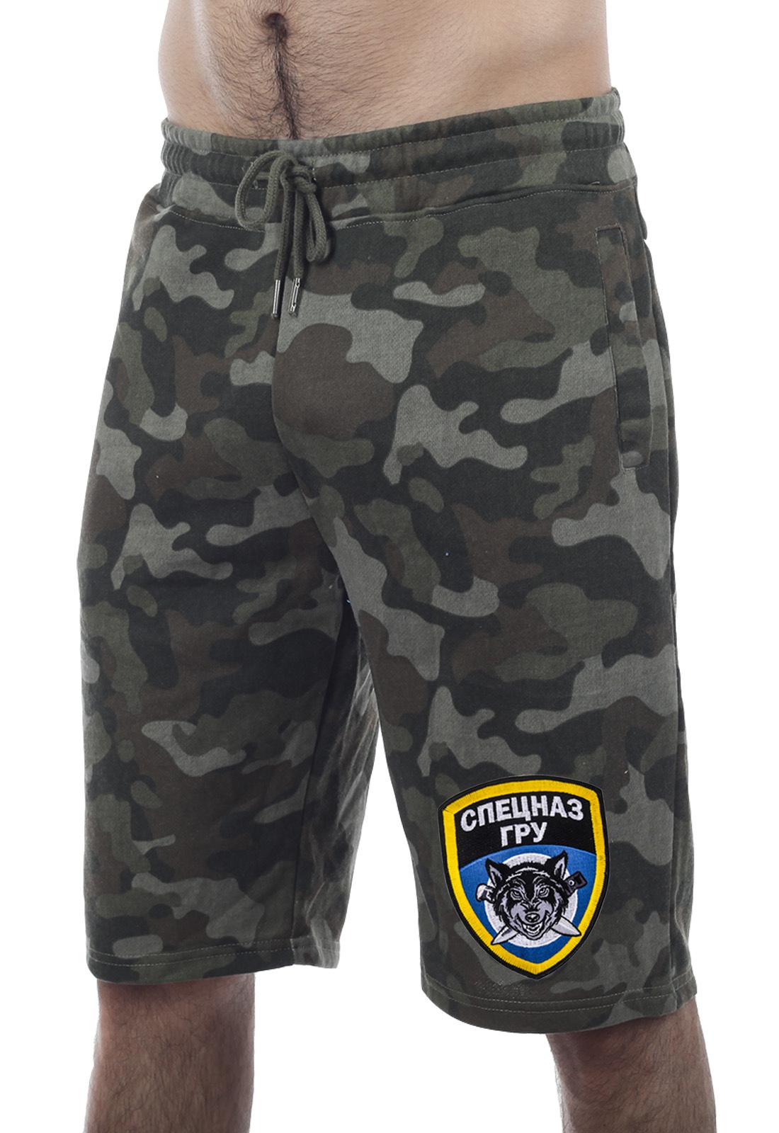 Купить в военторге мужские милитари шорты Спецназа ГРУ