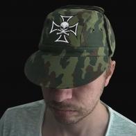 Мужская кепка с черепом