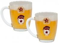 """Набор пивных бокалов """"Гвардия"""" - подарок на Новый год офицеру"""