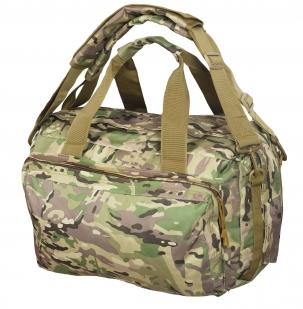 Надежная камуфляжная сумка с нашивкой Танковые Войска - купить в подарок