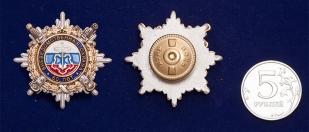 Юбилейный нагрудной знак  МВД «60 лет Вневедомственной охраны»