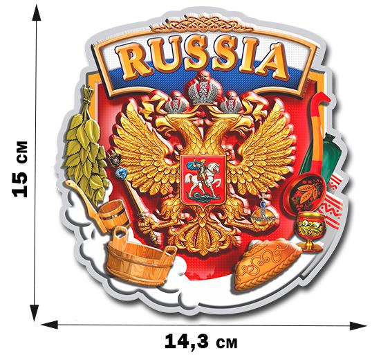 Виниловые наклейки Герб России на авто – самые большой выбор