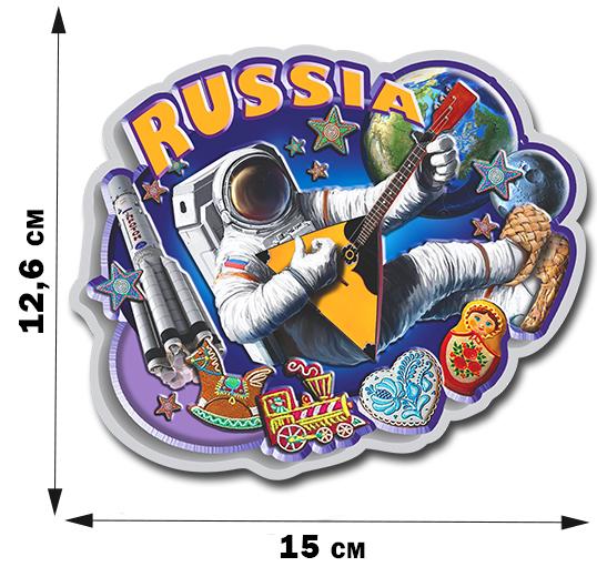 Купить прикольную наклейку на автомобиль по теме «Россия»