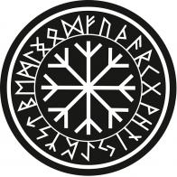 """Наклейка """"Рунический круг"""""""