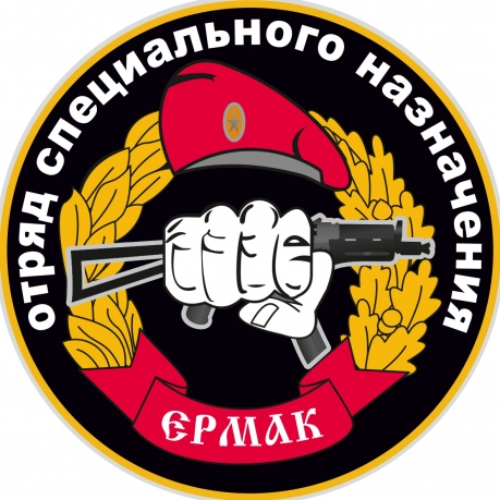 Наклейка Спецназ ВВ Ермак