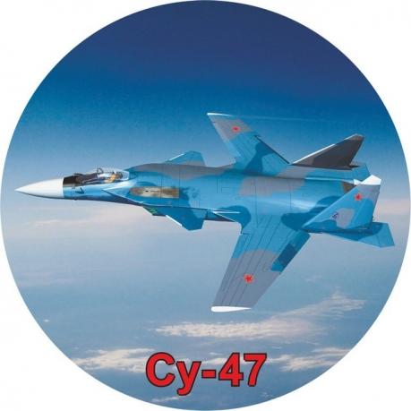 Наклейка ВВС «СУ-47»