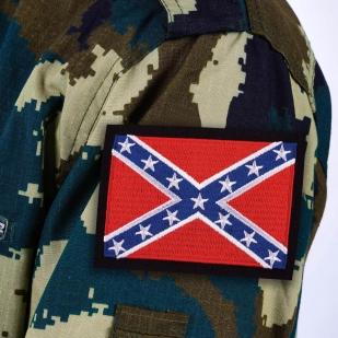 Нашивка байкера «Флаг Конфедерации»