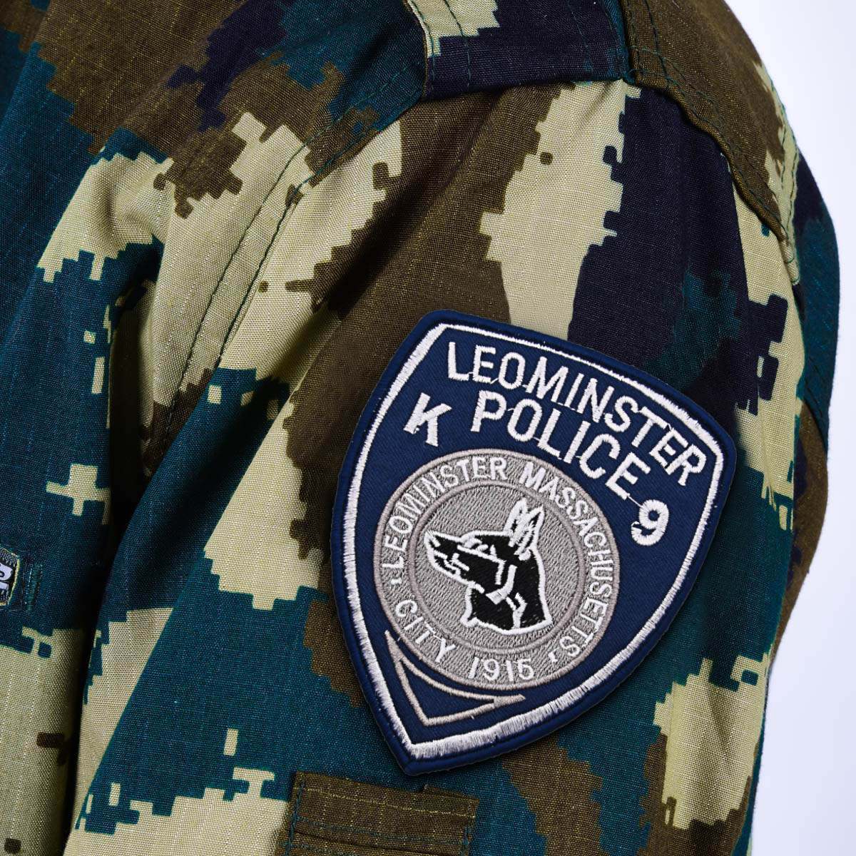 "Шеврон ""Полицейский пес отряда K9"""