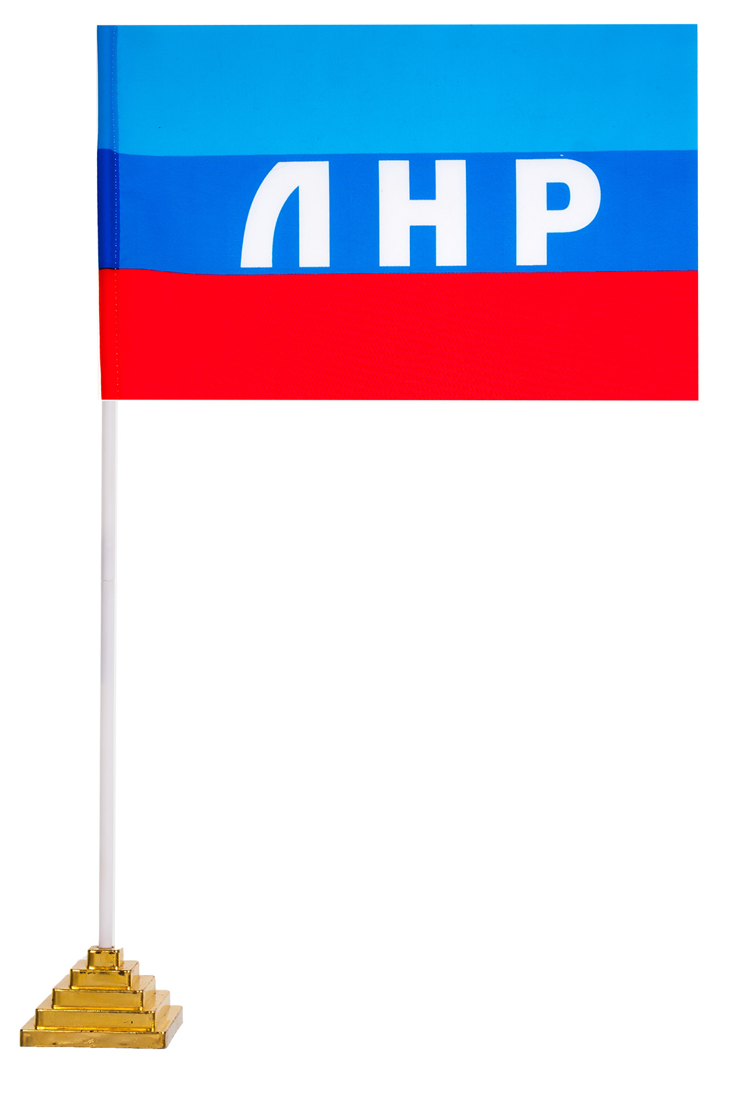 Настольный флаг ЛНР