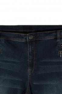 Немецкие джинсы от Sheego® с дизайнерскими карманами на молниях. Свежая новинка из каталогов Германии
