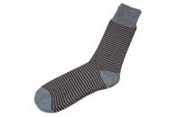Удобные мужские носки в полоску.