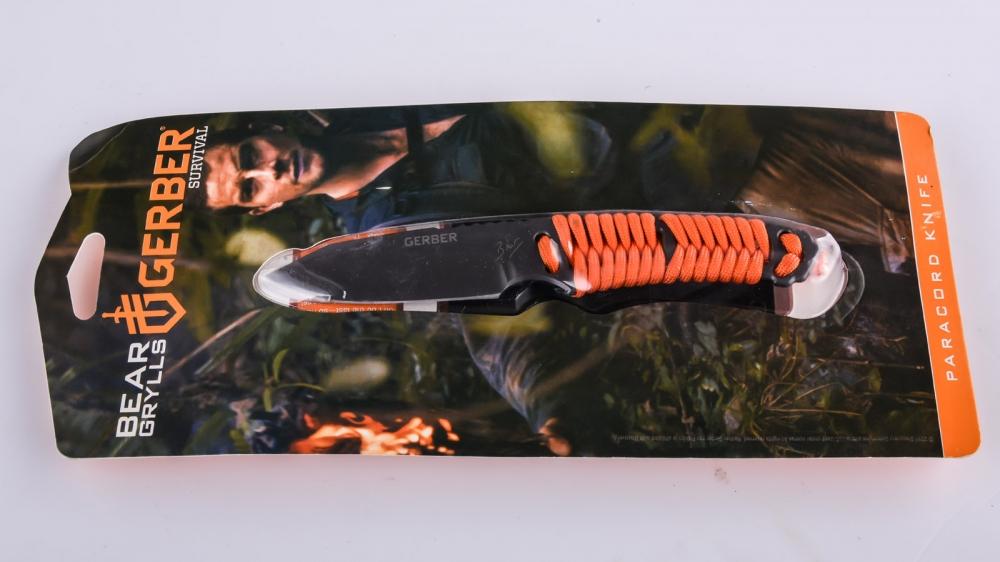 Нож Gerber Bear Grylls Paracord knife выгодно с доставкой