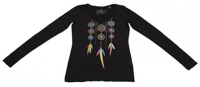 Очаровательная стильная кофточка с ярким цветным оберегом - Ловец Снов от Panhandle
