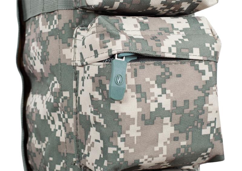 Однолямочный тактический рюкзак камуфляж ACU