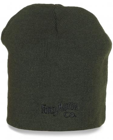 Однотонная шапка Ford Motor Co. Достойное качество по разумной цене