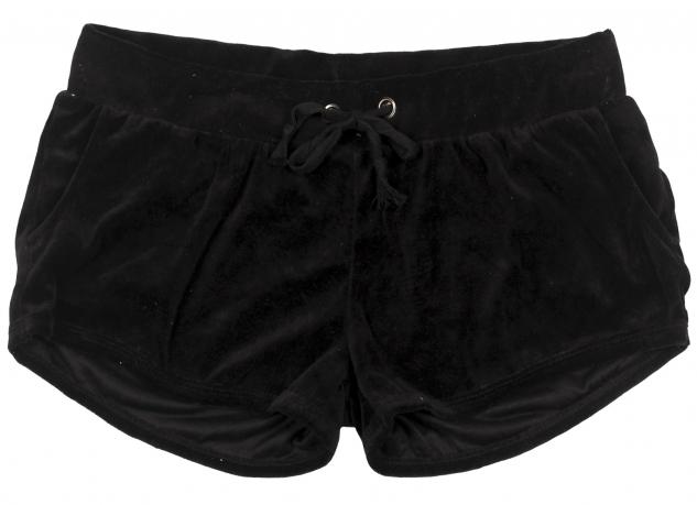Однотонные черные шорты Coco Limon, мягкие и удобные