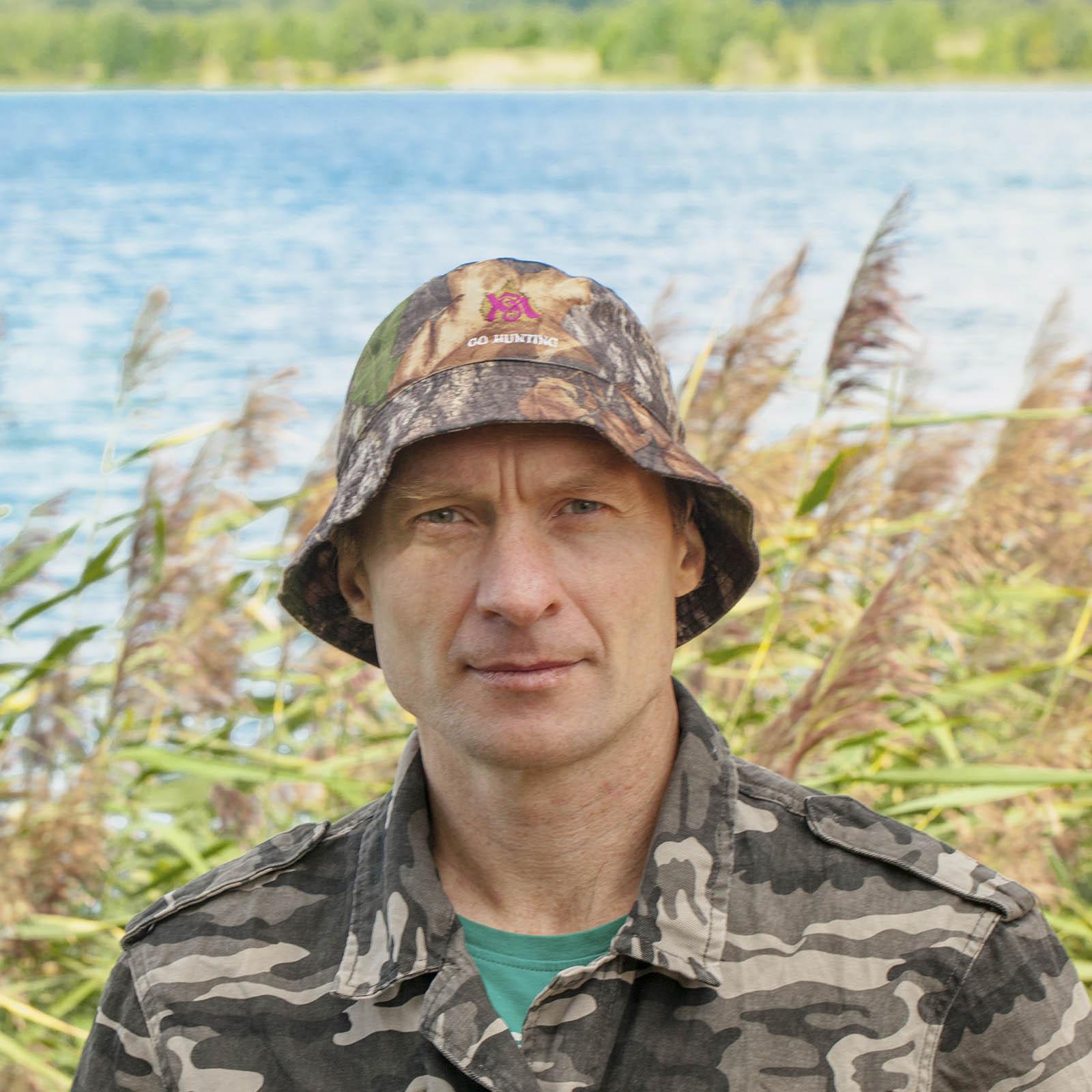 Купить в интернет магазине Военпро камуфляжную панаму охотника