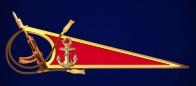 Околыш Морской пехоты (с автоматом)