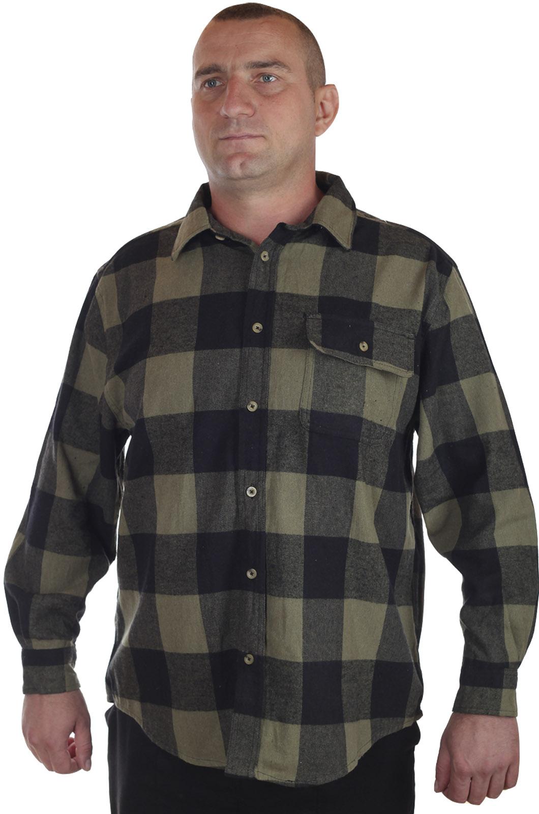 Купить в интернет магазине темную мужскую рубашку Old Mill